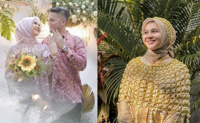 Kesha Ratuliu Resmi Menikah
