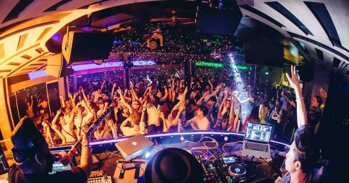 Club malam Bangkok Thailand