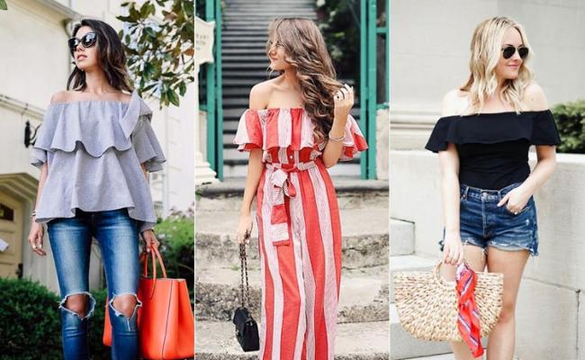 Inspirasi Outfit Baju Sabrina